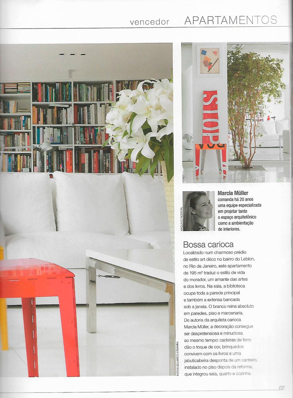 Revista Prêmio Casa Claudia
